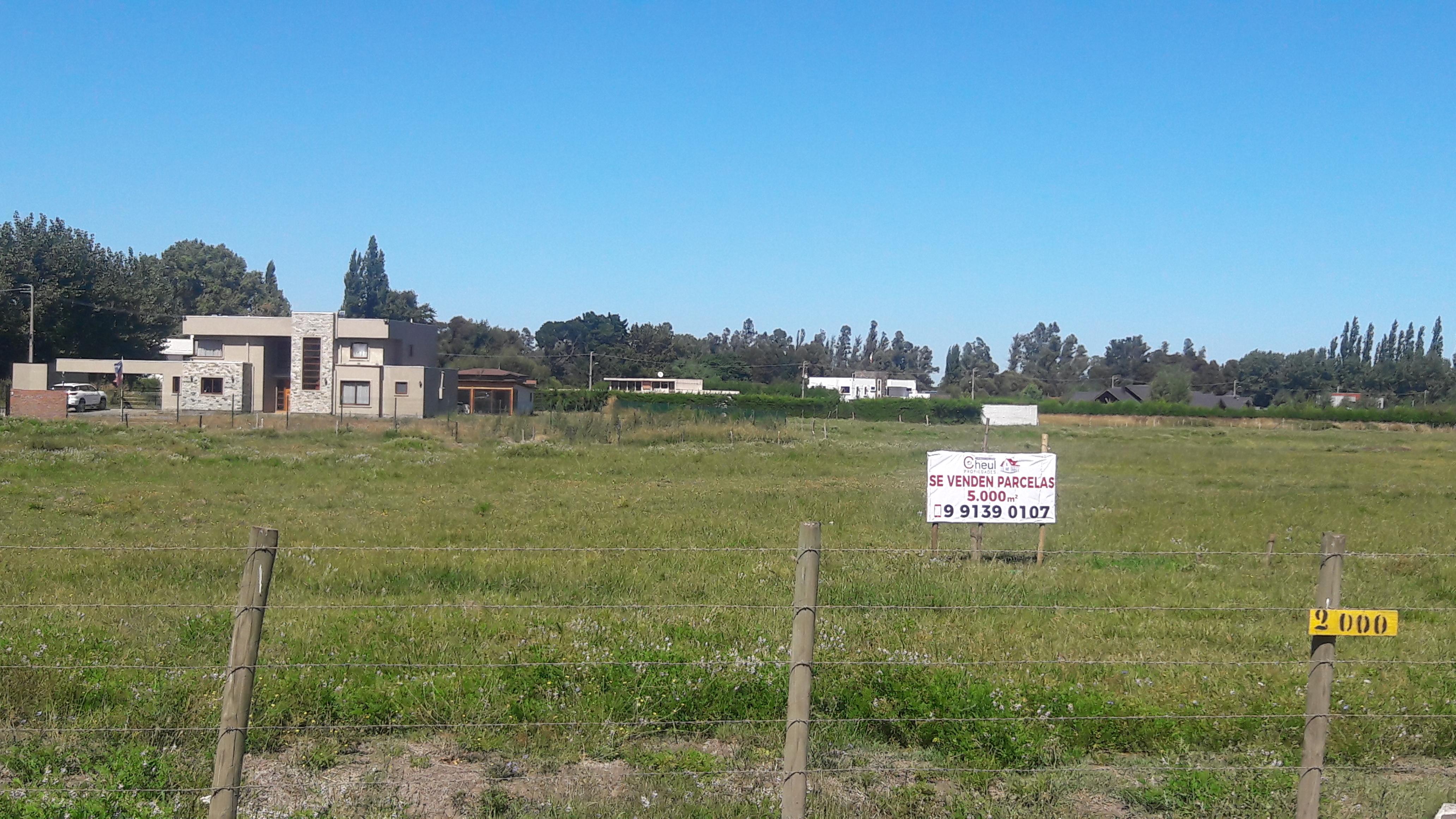 Vendo Parcelas de 5000 m2 a 1.5 km Camino Sta Barbara